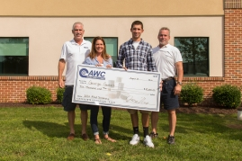 George Gantert Accepts 2012 Allied Wire & Cable Scholarship