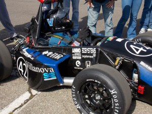 The impressive looking VU06 formula car designed by Villanova students.